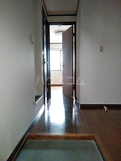 クレセントC 205号室の玄関