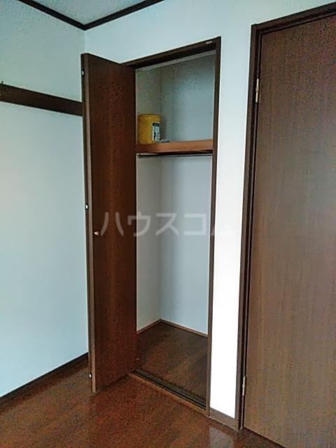 クレセントC 205号室の収納