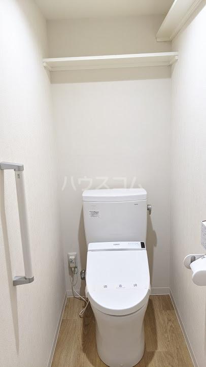 セザール大岡山 104号室のトイレ