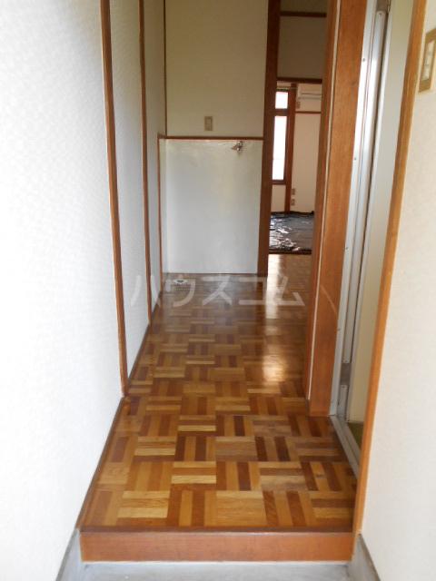 ユニメント祖原 202号室の玄関