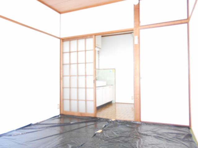 ユニメント祖原 202号室のベッドルーム