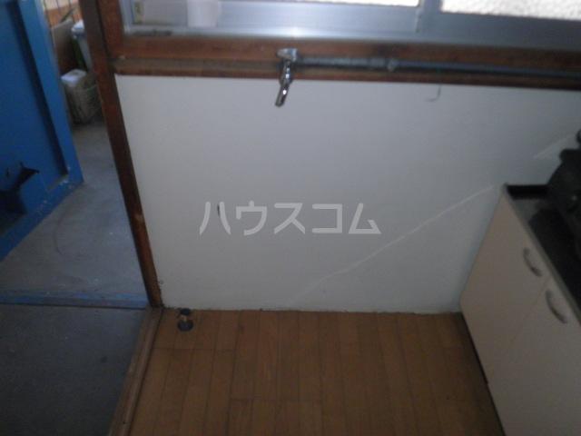 森アパート 6号室のバルコニー