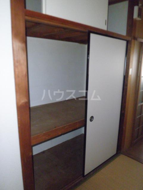 森アパート 6号室の玄関
