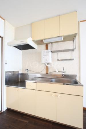 コーポ白水 203号室のキッチン