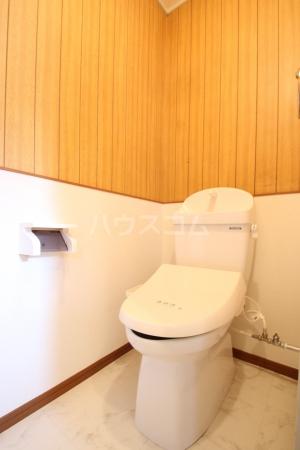 コーポ白水 203号室のトイレ