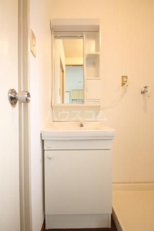 コーポ白水 203号室の洗面所