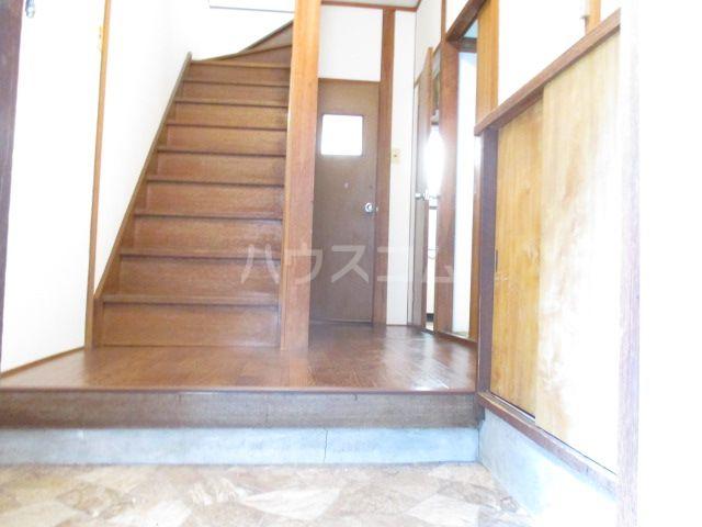 藤崎荘の玄関