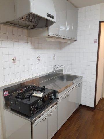 グランデール鵜野森 102号室のキッチン