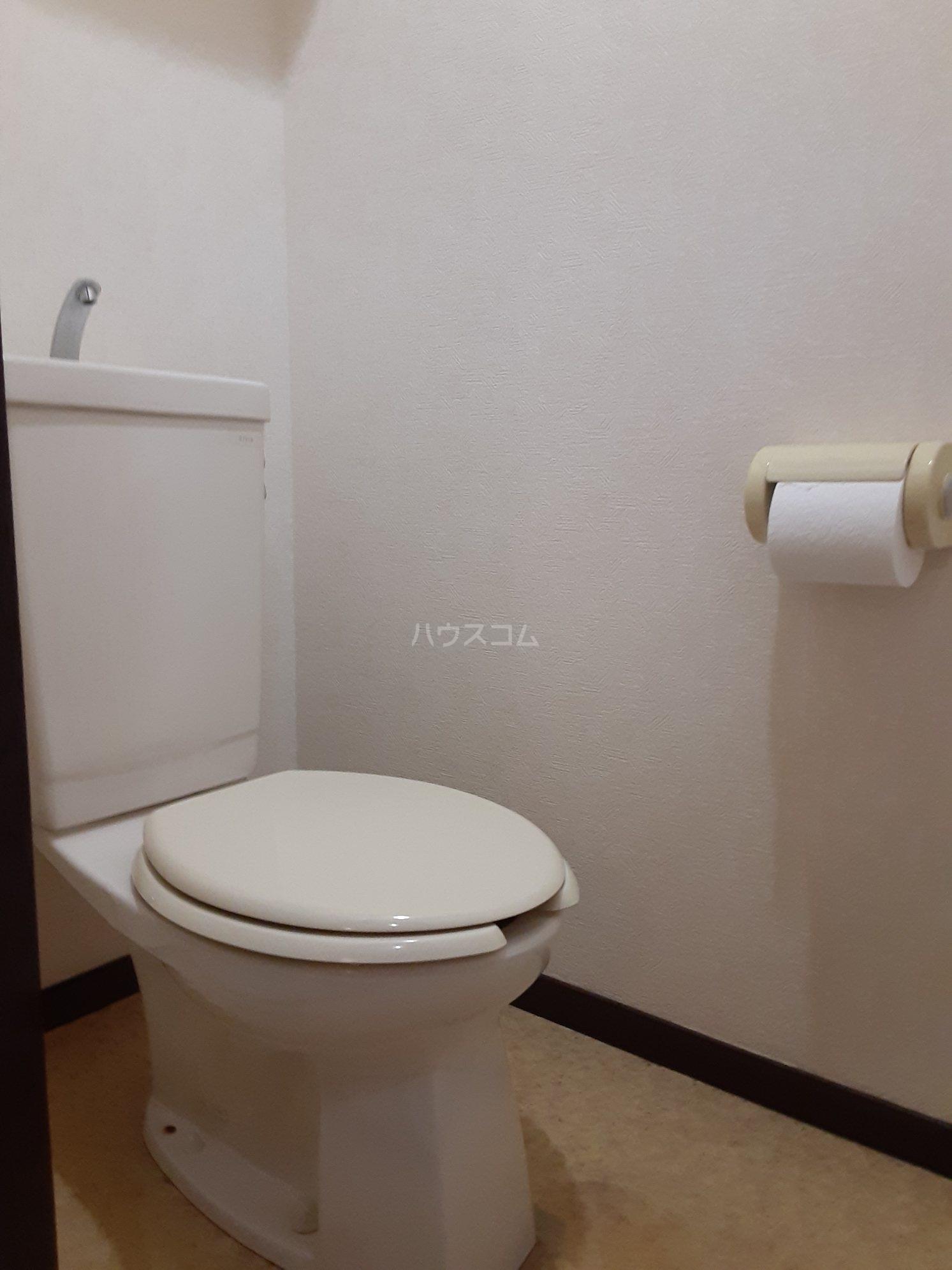 グランデール鵜野森 102号室のトイレ