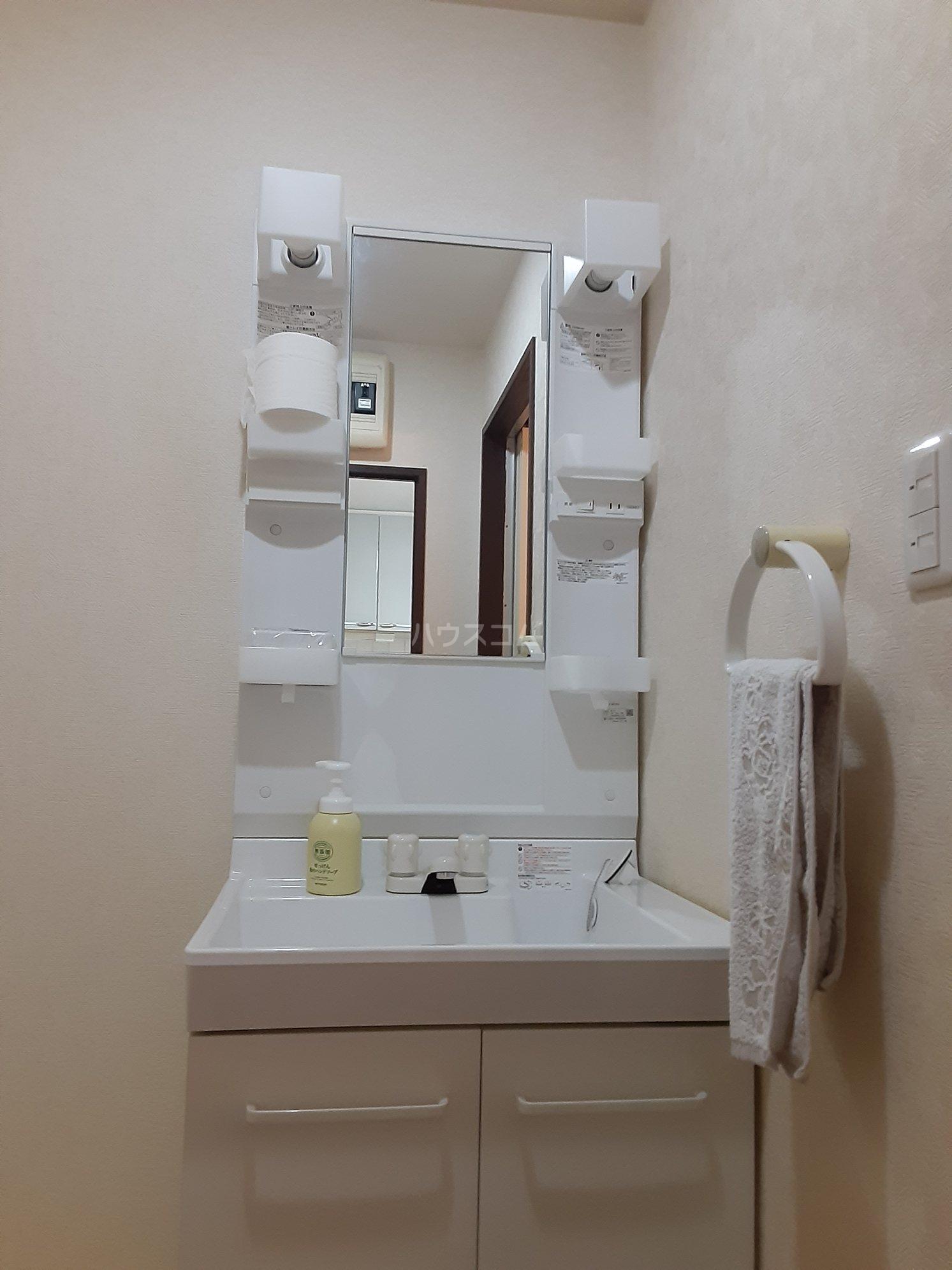 グランデール鵜野森 102号室の洗面所