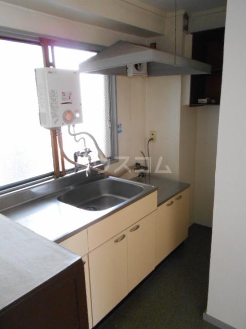 第5フジサンビル 205号室のキッチン