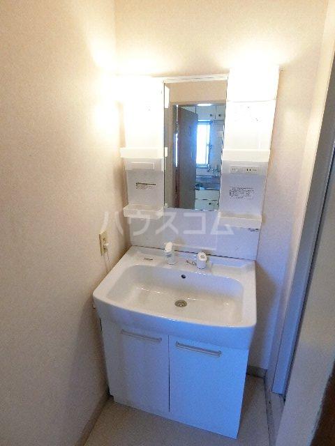 ソミュール七星No.11 102号室の洗面所