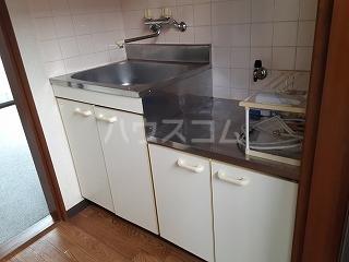 ハイツF 202号室のキッチン