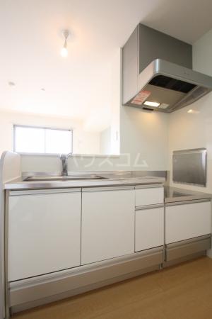 リヴェール21 202号室のキッチン