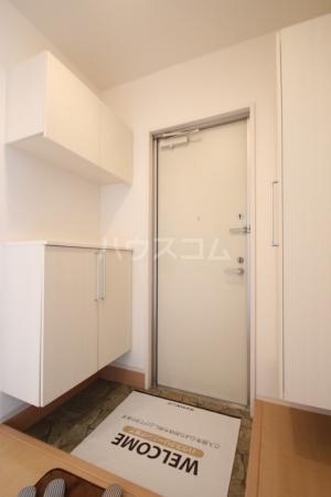 リヴェール21 202号室の玄関