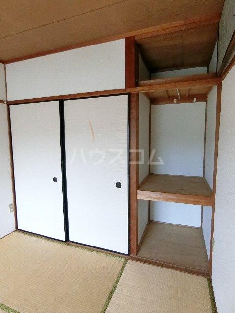 馳川アパート 3号室の収納