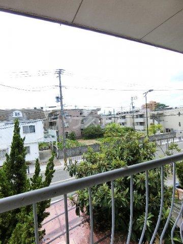 馳川アパート 3号室の景色