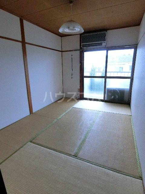 馳川アパート 3号室のベッドルーム