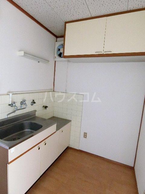 馳川アパート 3号室のキッチン