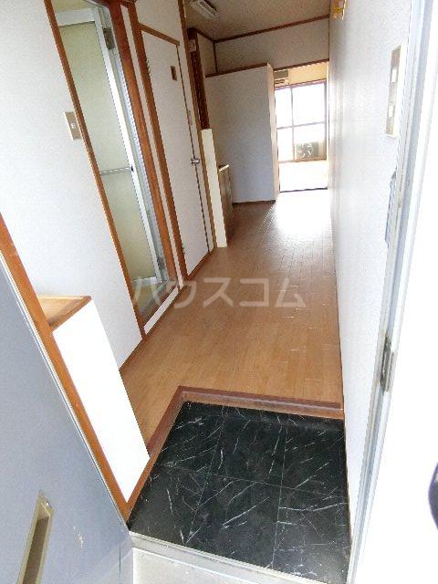 馳川アパート 3号室の玄関