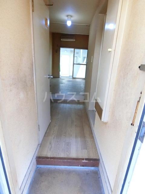 ウイング筥松 A101号室の玄関