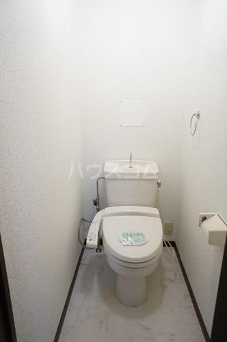 セントレージ博多 203号室のトイレ