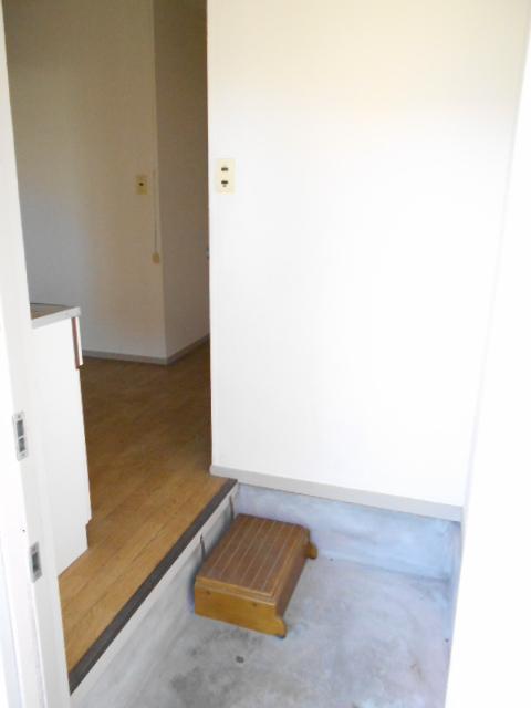 さくら荘1 8号室の玄関