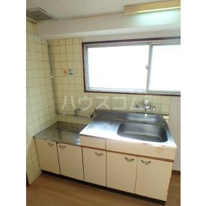 野間ローズパレス 401号室のキッチン