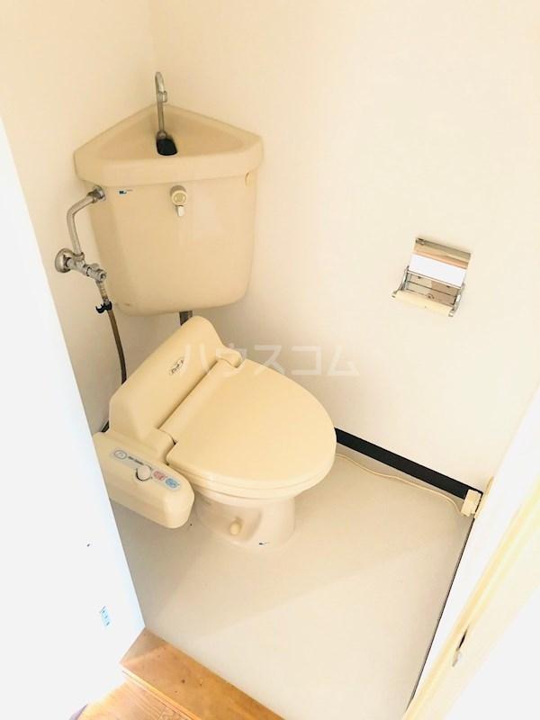 スカイハイツ井尻 202号室のトイレ