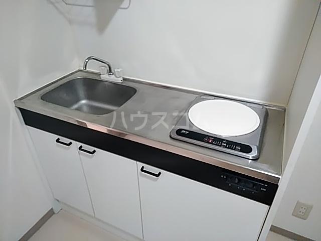グレース桜 213号室のキッチン