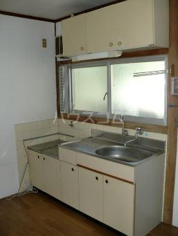 窪田ハイツ 207号室のキッチン