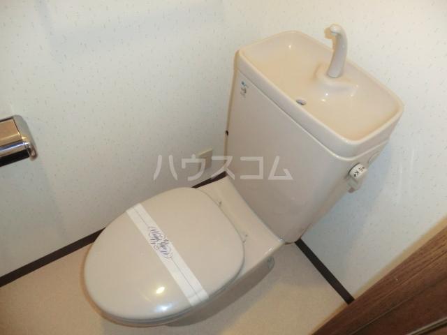 ダイアパレスエクセーブル九州大学前 703号室のトイレ