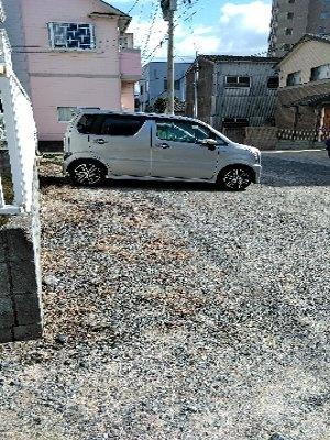 奥田ハイツ 201号室の駐車場