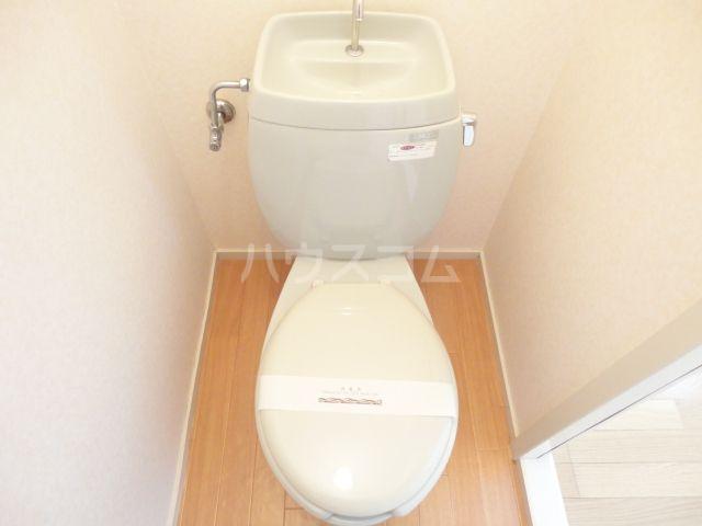 奥田ハイツ 201号室のトイレ