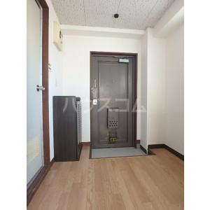 野間ローズパレス 302号室の玄関