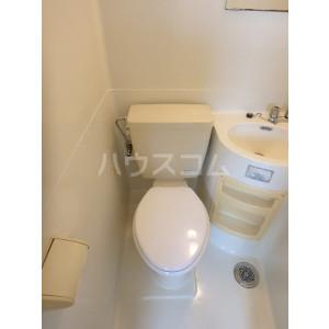 野間ローズパレス 302号室のトイレ