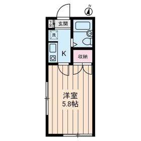 Studio Fujita 101号室の間取り