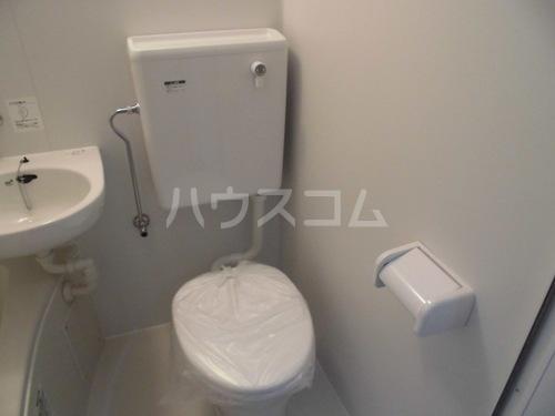 チサンマンション第二天神 207号室のトイレ