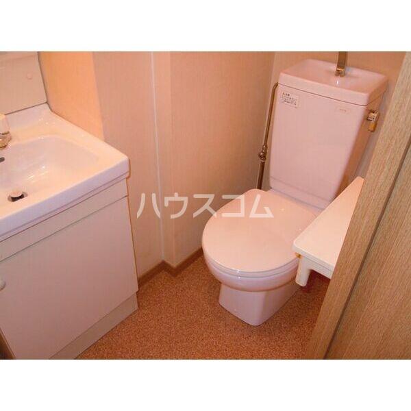 エンクレスト天神東 406号室の洗面所