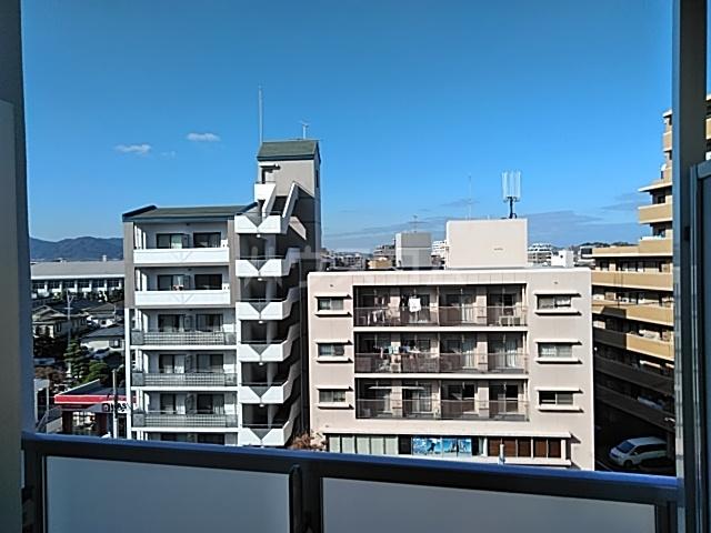 MODERN PALAZZO 西新SUR 607号室の景色