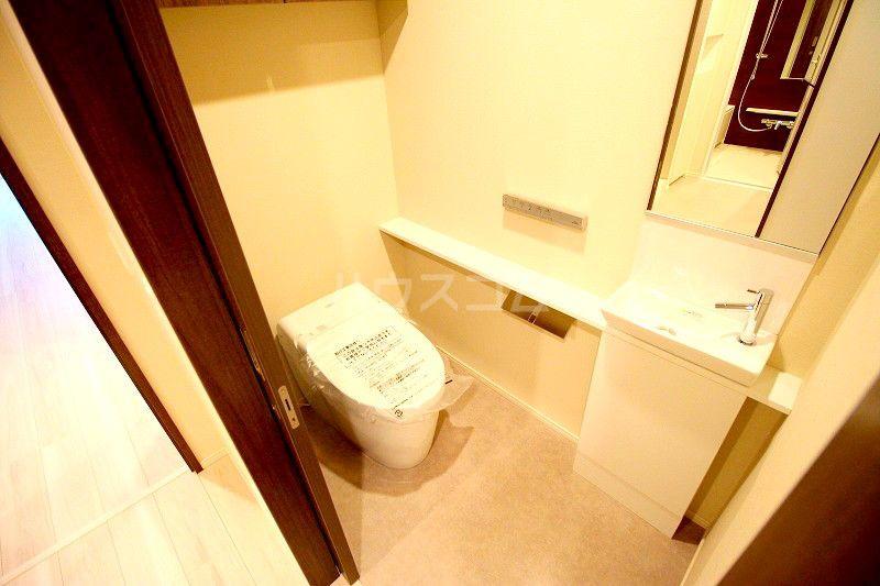 ザ・パークハウス百道2 410号室のトイレ