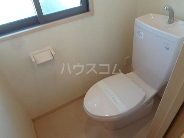 エスポワール五本木 201号室のトイレ