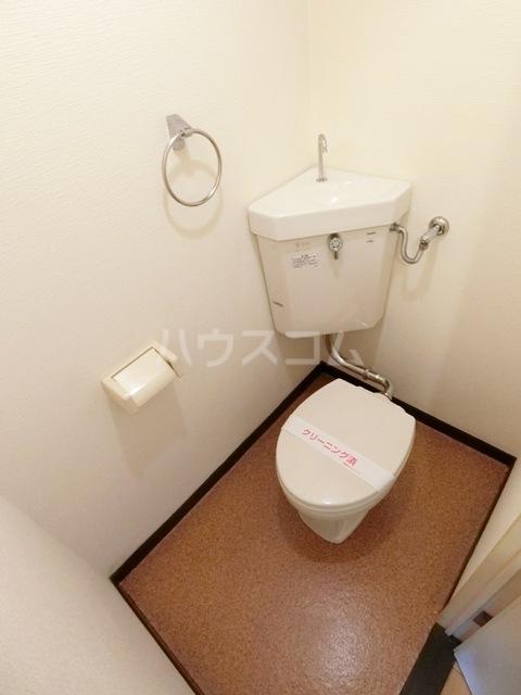 第5マルヤビル原田 302号室のトイレ