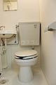 プリンスヒルC 106号室のトイレ