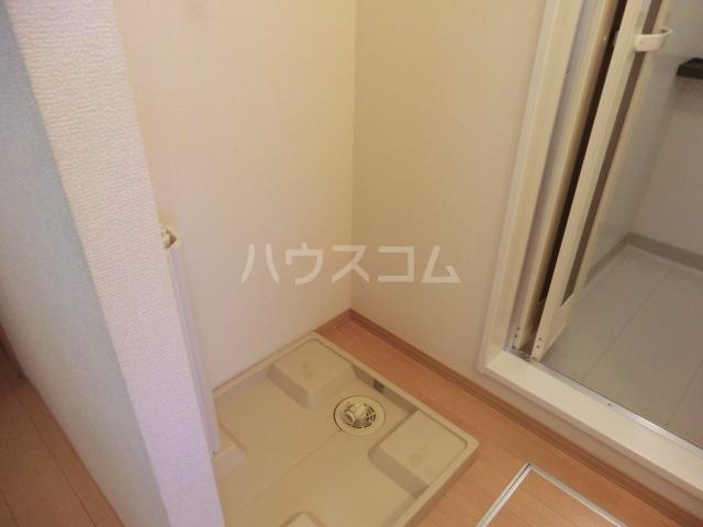 サンビレッジⅡ 206号室の洗面所