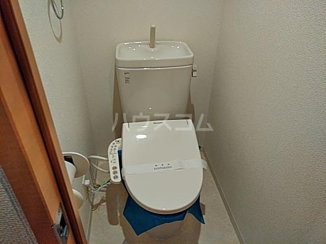 コンフィアンサ等々力 602号室のトイレ