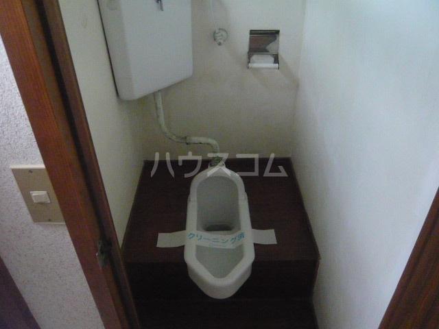 青木荘 201号室のトイレ