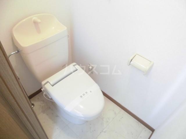 ニューヒルズ毛野B 02020号室のトイレ