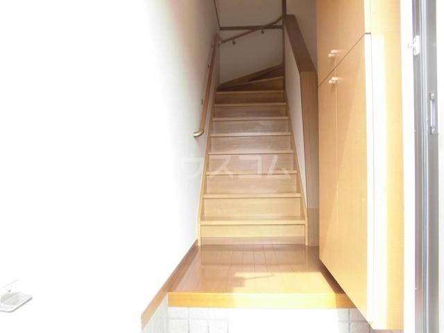 ニューヒルズ毛野B 02020号室の玄関