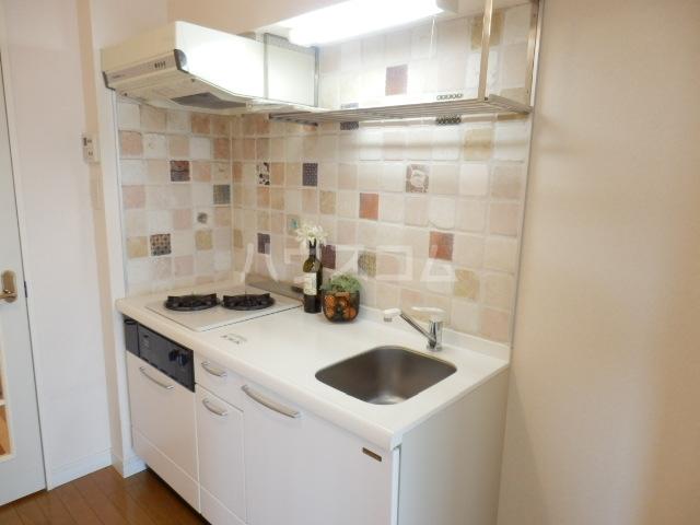 メゾン・ド・プロヴァンス 405号室のキッチン
